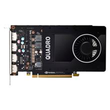HP Nvidia Quadro P2200 5GB (4)DP GFX ვიდეო ბარათი