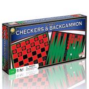 Classic Checkers/Backgammon − სამაგიდო თამაში
