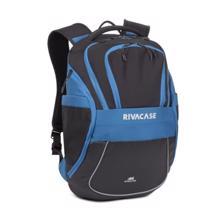 Rivacase 5225 Laptop Backpack - Black/Blue ნოუთბუქის ჩანთა