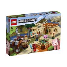 LEGO MINECRAFT-ლაგერ რეიდი