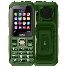 "Inoi 246Z 2.4 "" 3 SIM Green მობილური ტელეფონი"