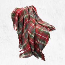 Manamo ACRYLIC SCOTCH BLANKETS RED პლედი