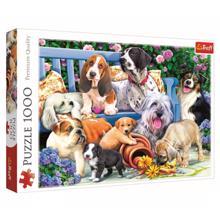 "TREFL ""1000"" - Dogs in the garden ფაზლი"