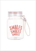 ბოთლი (330მლ)/Portable Borosilicate Water Bottle 330ml (Pink)