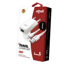 Mytell Charging  White iPhone 2in1 მობილურის კაბელი