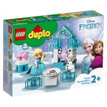 Lego DUPLO ელზას და ოლაფის ჩაის წვეულება
