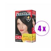 4 ცალი თმის საღებავი Prestige 242