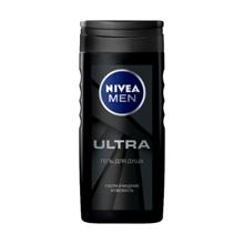 Nivea მამაკაცის შხაპის გელი Ultra 250 მლ