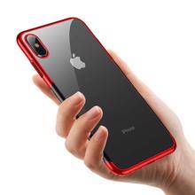 Baseus WIAPIPH58-DW09 For iPhone XS Red ტელეფონის ქეისი