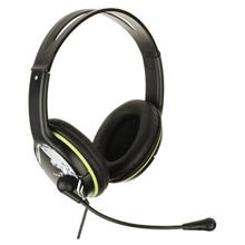 Genius HS-400A Black/Green ყურსასმენი