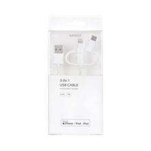 MINISO 3 in 1 USB სადენი Apple-ისთვის
