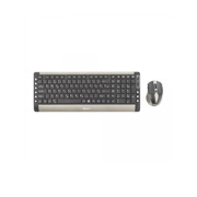 SBOX კლავიატურა და მაუსი SBOX Wireless Keyboard And Mouse Combo WKM-26 gray