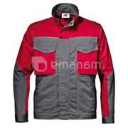 ქურთუკი Sir Safety System Fusion 31098 48 ნაცრისფერი/წითელი