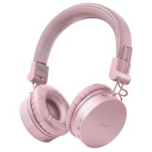 TRUST Tones Bluetooth Wireless Pink ყურსასმენი