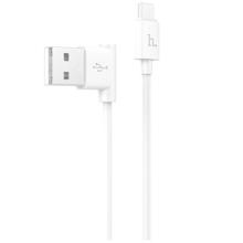 Hoco UPM10 Micro USB to USB 1.2M White მობილურის კაბელი