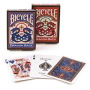 BICYCLE Playing Cards Bicycle Dragon Blue/Red Back - ბანქოს დასტა