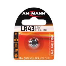 ANSMANN ელემენტი AlkCC-1.5V LR43-bl