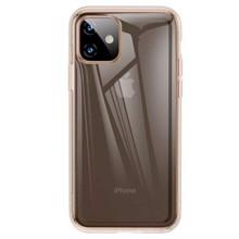 Baseus ARAPIPH61S-0V for iphone 11 Gold/Transparent ქეისი