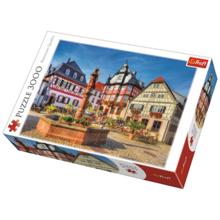 TREFL Puzzles  3000 Market Square Heppenheim ფაზლი