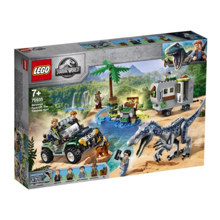 lego Jurassic World - Baryonyx Face-Off: The Treasure Hunt კონსტრუქტორი