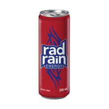 Red Rain ენერგეტიკული სასმელი 250 მლ
