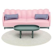 lundby Basic Living Room Set ავეჯი მისაღები ოთახისთვის