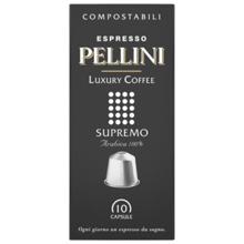 Pellini ყავის კაფსულა Espresso Pellini Luxury Coffee Supremo in self-protected compostable Nespresso®* compatible capsules