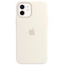 Apple iPhone 12/12 Pro Silicone Case with MagSafe White მობილურის ქეისი