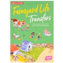 Scribble down ფურცელზე გადამყვანი სტიკერები Transferred Stickers Farmyard Life