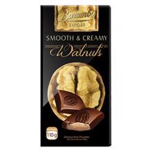 Barambo Export შოკოლადის ფილა  ნიგვზით 110 გრ