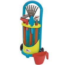 ecoiffier Little Gardener`S Trolley მებაღის აქსესუარები