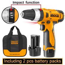 INGCO ელექტრო იმპულსური ხელსაწყო კომპლექტში 12 V