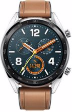 Huawei სმარტ საათი Huawei Watch GT Classic Stainless Steel Saddle Brown Hybrid Strap
