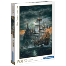CLEMENTONI ფაზლი | მეკობრის გემი 1500 ნაწილიანი