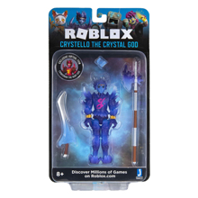 Jazwares Roblox Imagination Figure Pack Crystello the Crystal God W7 სათამაშო ფიგურა