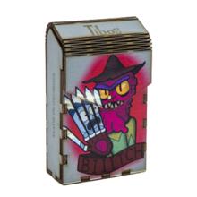 Tibox • ტიბოქს ხის ყუთი Rick and Morty | Freddy Krueger
