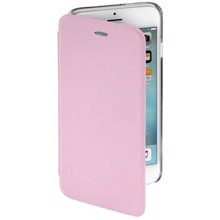 Hama Clear Booklet Pink for iPhone 6 ქეისი