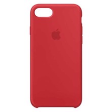 Apple Silicone Case for iPhone 8/7 PRODUCT (RED) ქეისი