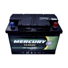 Megatex აკუმულატორი Mercury Classic 75 Ah DIN