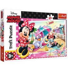 TREFL ფაზლი arge Disney Minnie Holiday Beach