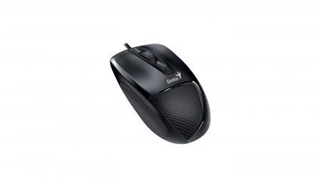 მაუსი Genius DX-150X Optical Mouse Black USB