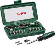 BOSCH ბიტების და თავაკების ნაკრები Bosch 2607019504 46 ც