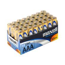 maxell ელემენტების შეკვრა  33 ცალიანი AAA ზომა