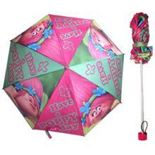 KIDS LICENSING  Trolls Foldable Umbrella საბავშვო დასაკეცი ქოლგა
