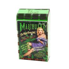 ხის ყუთი Marijuana
