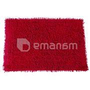 დასაფენი აბაზანის MSV 140508 60x40 სმ ბორდოსფერ-წითელი