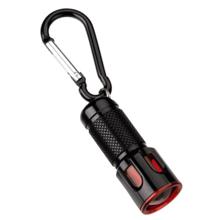 Hama Key LED Light შავი ფანარი გასაღების საკიდით
