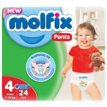 Molfix ბავშვის საფენი N4 #24