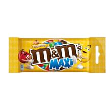 m&m's შოკოლადის დრაჟე თხილით Maxi 70 გრ