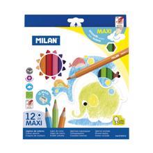 MILAN ფერადი ფანქრები 12 ფერი